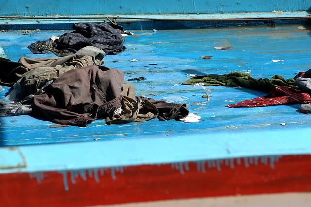 Lampedusa. Image credit:  Sara Prestianni; Noborder Network